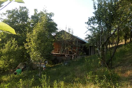Charming wooden house in Arzakan
