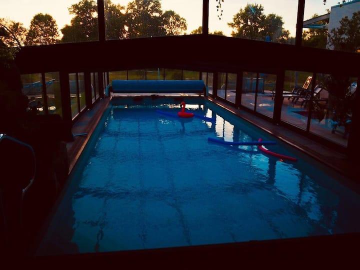 Chambre d'hôtes Forêt, piscine spa Désirad