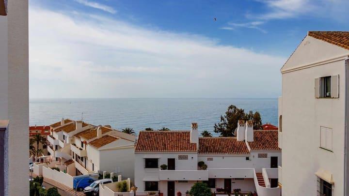 797 HR- Estudio Benalmádena cerca de la Playa y Puerto Marina