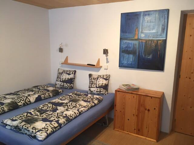 Doppelzimmer mit Bad Parterre