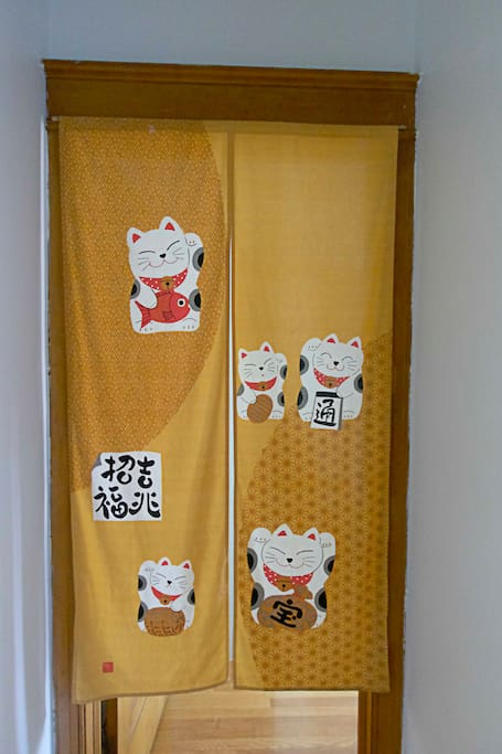 Japanese door screen
