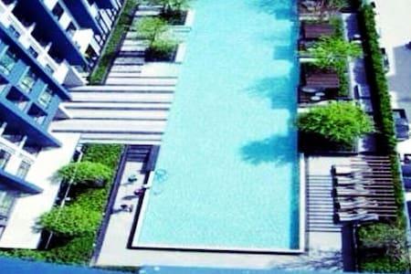 NEW COSY ROOM ON 28 FLOORS/ NEAR STATION/WIFI/POOL - Bangkok