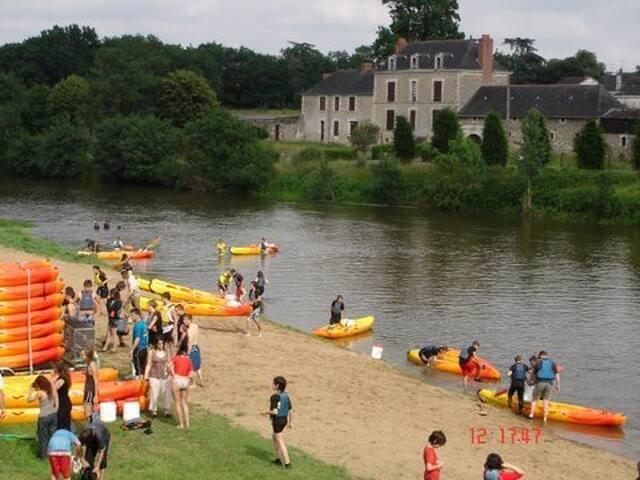 Chambre proche Louet/Loire halte Loire à velo