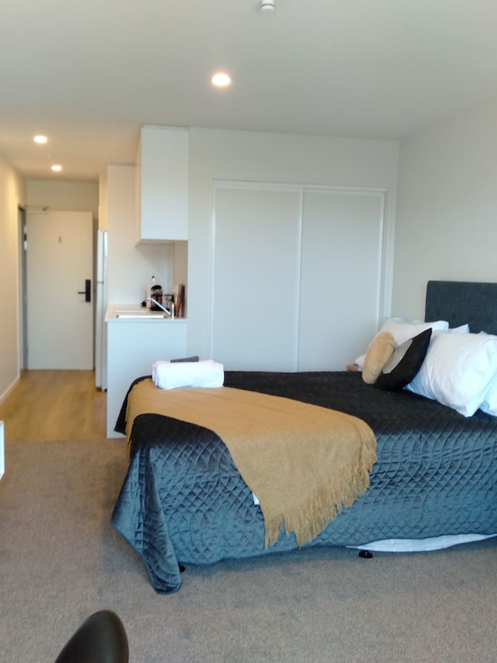 Executive Studio Apartment, Central Christchurch