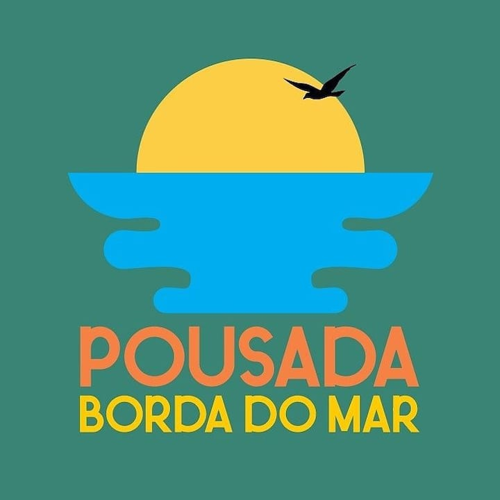Pousada borda do mar