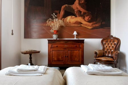 Casa degli Dei. Room1 (Room of Big Conversion)
