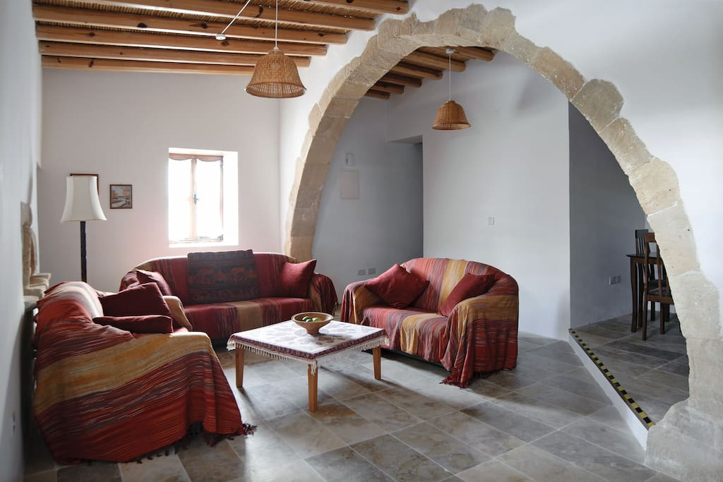 Living - room with Arch