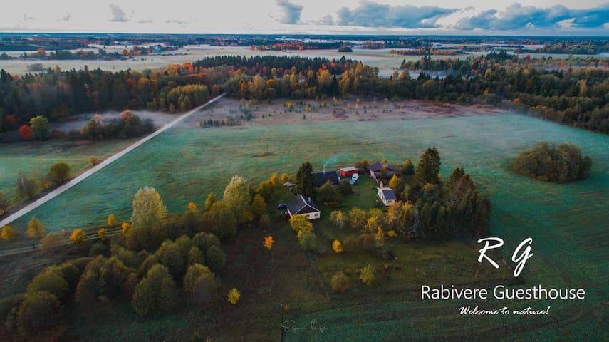 Cozy Estonian farmhouse with sauna and grill