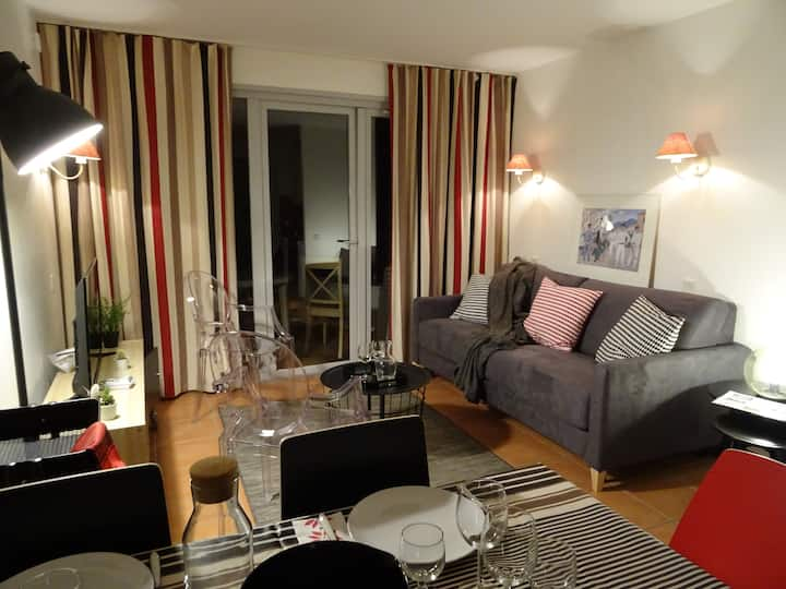 """Proche Biarritz - appartement """"Cosy Chic"""" 2/4 pers"""