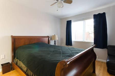 Private bath, Master, close to SJC - Milpitas - Huis