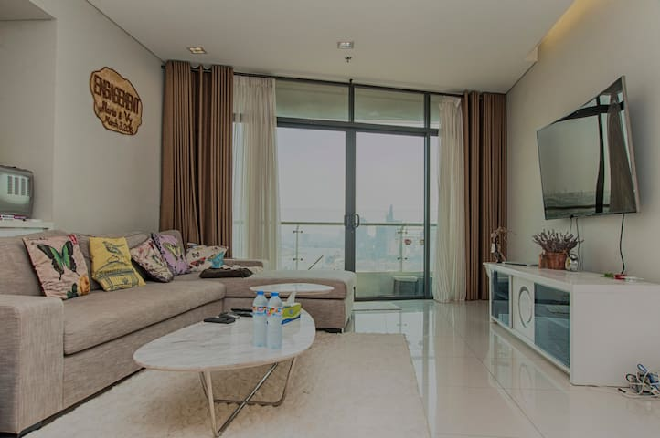Gorgeous City Garden Apartment - Bình Thạnh - Huoneisto