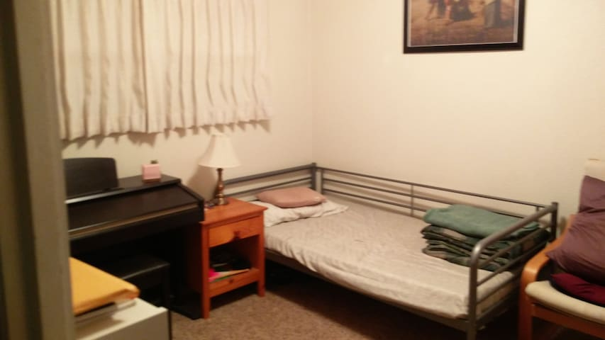 One clean bedroom very close to EOU