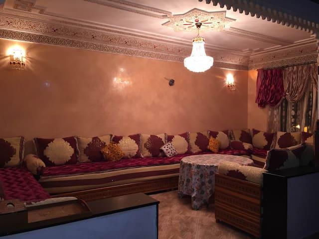 Appartement 2 Chambres Nouvelle Ville (MarcheVert) - Fès - Lägenhet