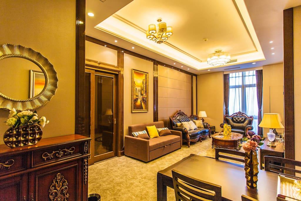 4米层高,超大客厅,52层超棒景观
