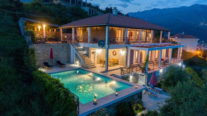 ✔Luxury 5BR Villa Mogren with pool sea view +pkg ✔
