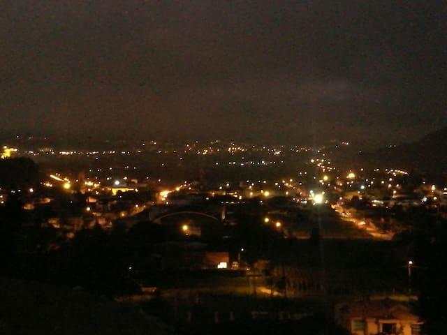 En Nobsa,  la mejor vista del valle de Sogamoso,