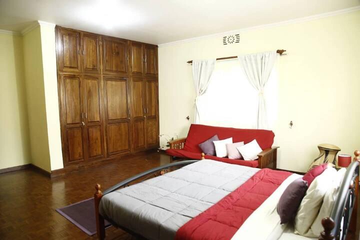 The Kilimanjaro bedroom with own luxury bathroom
