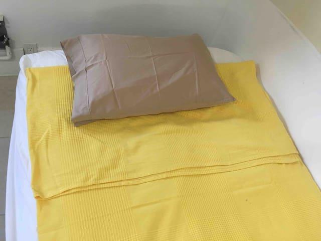 Foldout futon size Twin XL