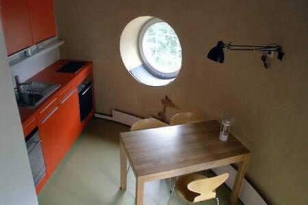 Wohnen im historischen Wasserturm_2 - Waren - Lägenhet