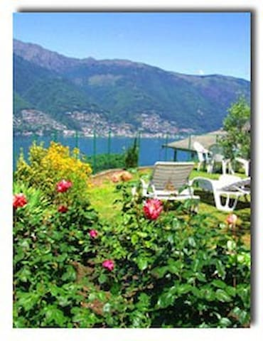 Lovely, private Lake sightseing!!!! - Tronzano Lago Maggiore - Appartement