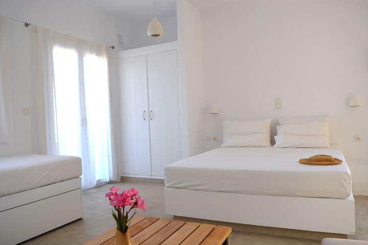 Psammos Holiday Apartments (Triple bed studio) - Lesvos - Apartament