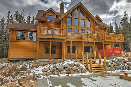 NEW! 6BR Alma Cabin w/Spectacular Mtn. Views! - Alma