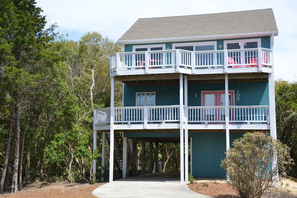 Summer Joy is a joy to stay at in this quiet residential beach neighborhood!