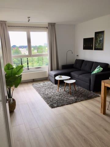 Fijn en comfortabel appartement