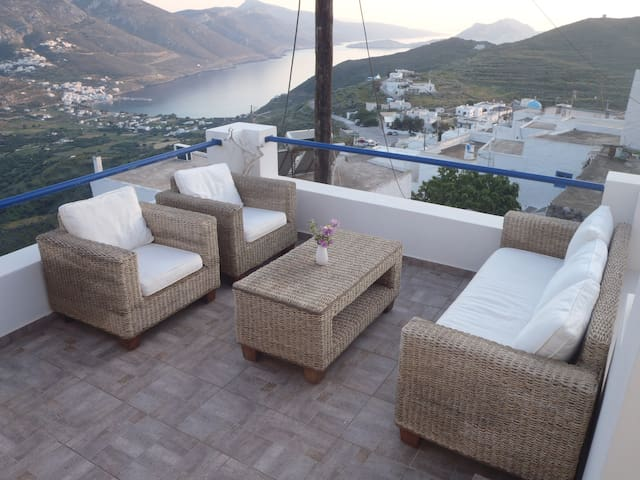 House with traditional character  - Tholaria Amorgos - Appartement
