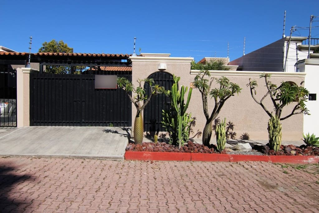 Front of house in Gated Community