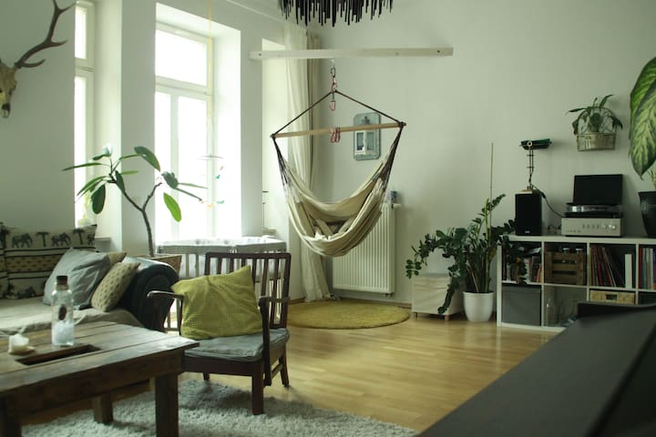 Großzügige Familienwohnung in der Südvorstadt - Lipsk - Apartament