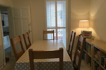 Dining table, ground floor