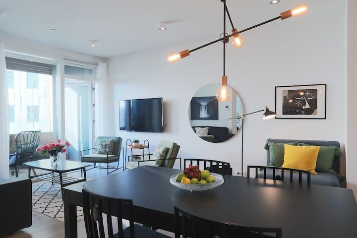 Salka suites, brand new apt. downtown Reykjavik