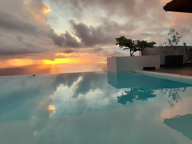 Un p'tit coin de Paradis sur les hauteurs