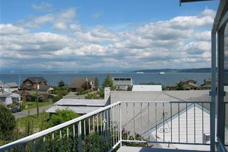 Beautiful Whidbey View House on Whidbey Island