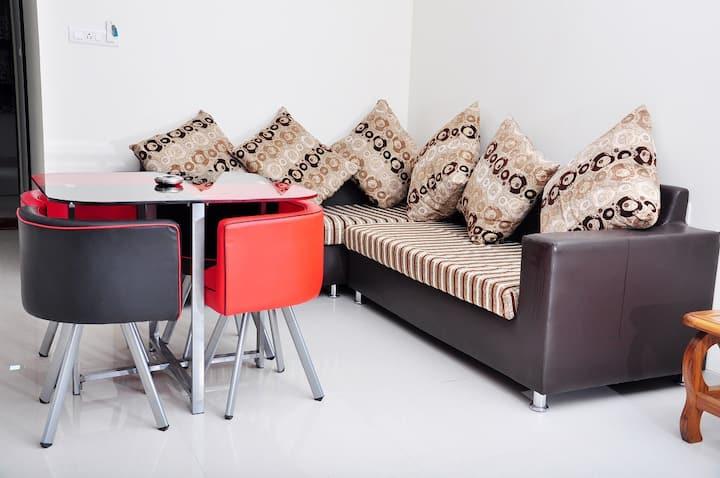 Spacious,Sunny &  Clean 2BHK    apartment in NIBM