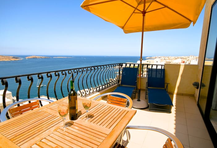 Penthouse in St Paul's Bay Malta - St Paul's Bay - Apartamento