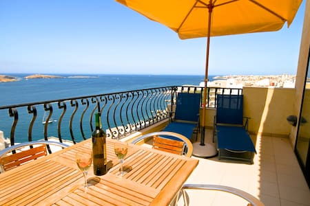 Penthouse in St Paul's Bay Malta - St Paul's Bay - Apartament