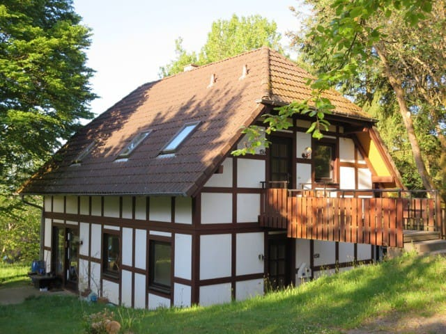 Sonnige Ferienwohnung in Frankenau - Frankenau - Apartamento