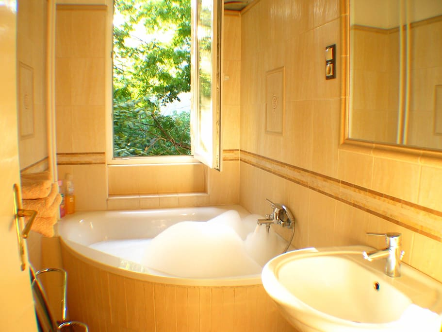 Wellness apartment with huge bathtub and sauna - Apartments for Rent ...