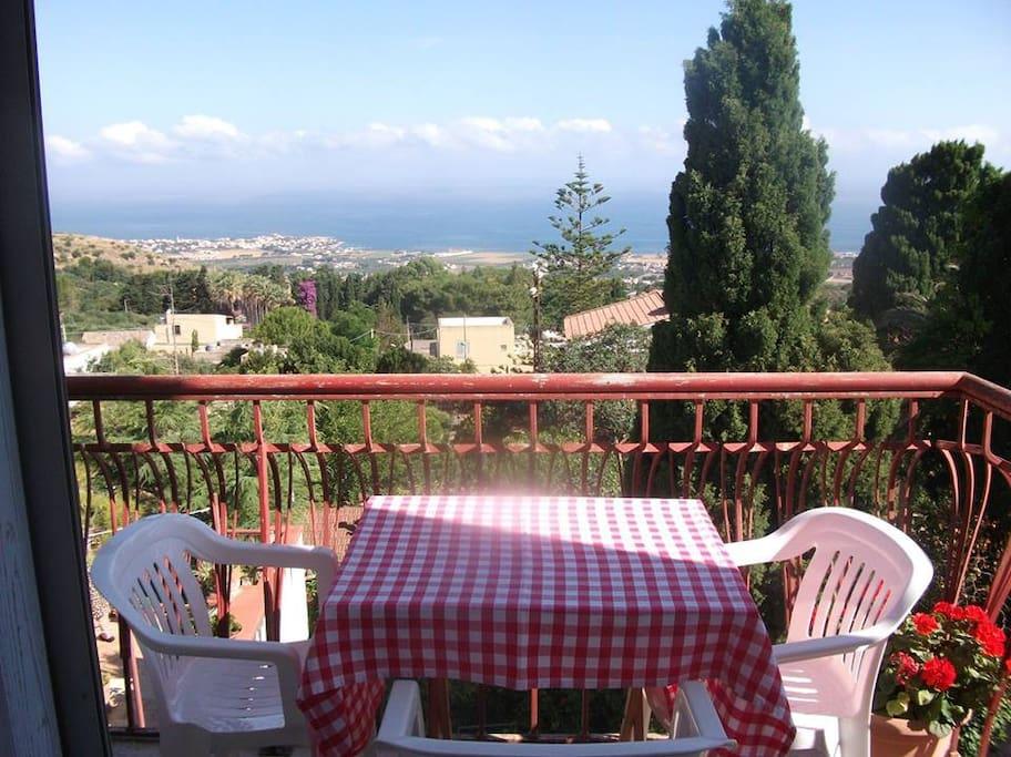 Balconcino con vista panoramica