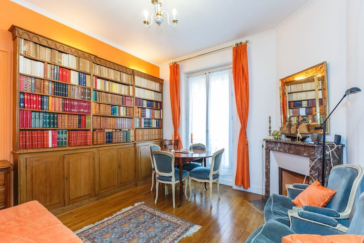 A NICE LOVELY TYPICALLY FRENCH ROOM - París - Departamento