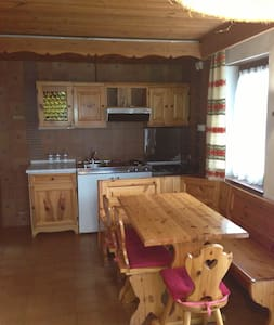 Alpen Rose - Apartment 4 pax - 100 mt. from slopes - San Vigilio - Apartament