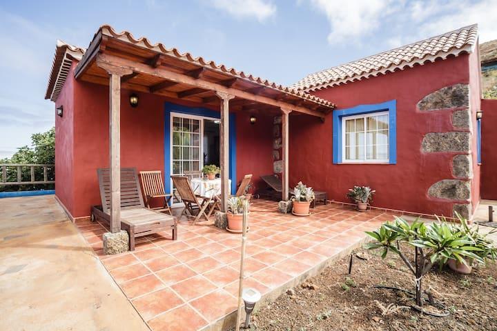 Buganvillas, Fantastic Rural House - Puntagorda - Huis