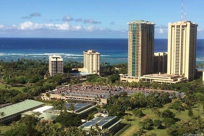 Waikiki ocean views 35 floor