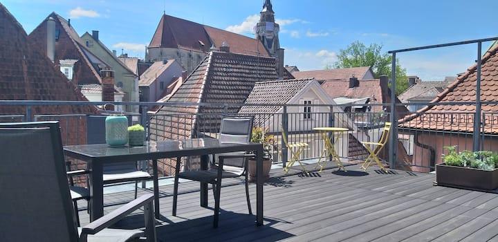 View over Tübingen