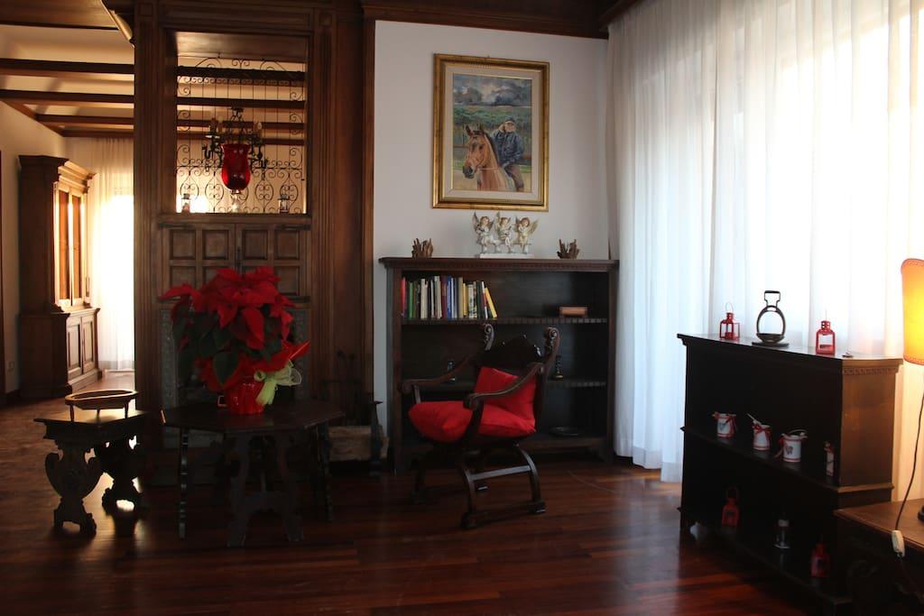 Living room - Chimney