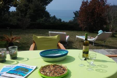 Between the sea and forest of Elani, Halkidiki - Elani - Apartament