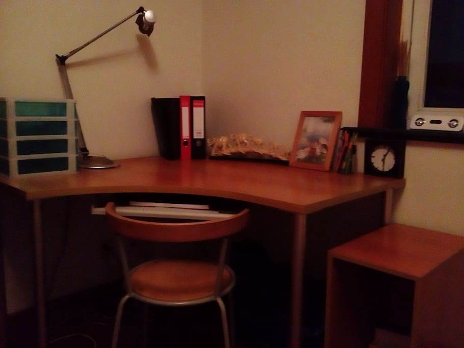 The desk - i can provide free PC if you need it.