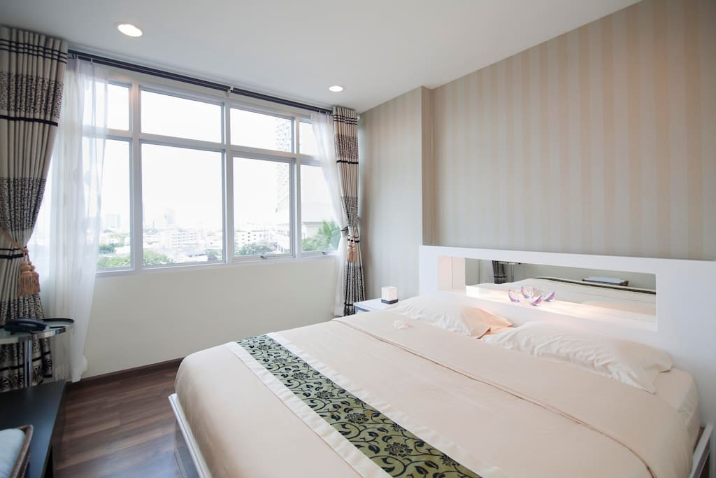 Double bedroom with first class mattress set